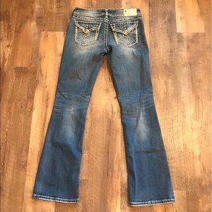 Silver Jeans Suki Surplus Jeans sz 29 Flap Pocket